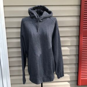 Gymshark women's gray pullover hoodie